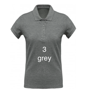 "SPORT LINE WOMEN'S POLO SHIRT ""GREY"""