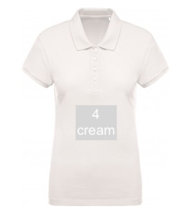 "SPORT LINE WOMEN'S POLO SHIRT ""CREAM"""
