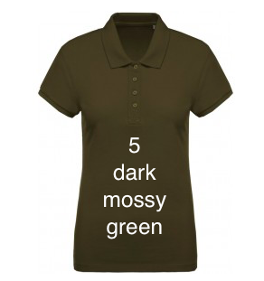 "SPORT LINE WOMEN'S POLO SHIRT ""DARK MOSSY GREEN"""