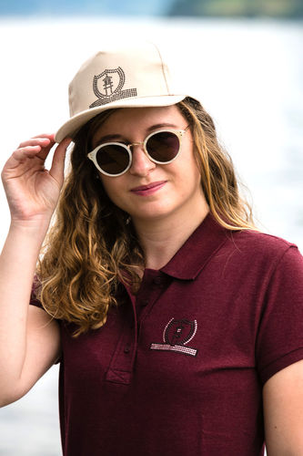 "SPORT LINE WOMEN'S POLO SHIRT ""BURGUNDY"""