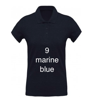 "SPORT LINE WOMEN'S POLO SHIRT ""MARINE BLUE"""
