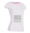 "EXCLUSIVE LINE WOMEN'S ""SWAROVSKI HEART"" V-NECK T-SHIRT ""WHITE"""