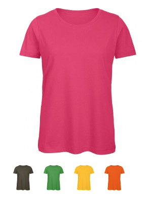 "EXCLUSIVE LINE WOMEN'S ""BELIEVE IN LOVE"" U-NECK T-SHIRT Verfügbare Farben / available colors"
