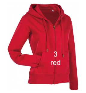 "WOMEN'S WOMEN'S HOODIE SPORT EDITION - GIANT LINE ""RED"""