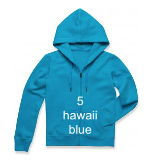 "WOMEN'S HOODIE SPORT EDITION - GIANT LINE ""HAWAII BLUE"""