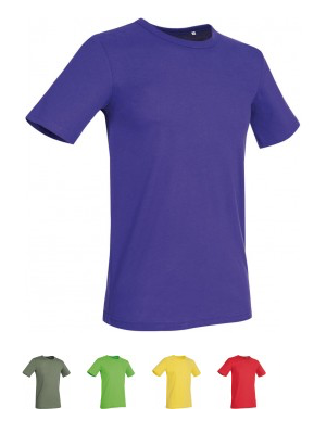 GLAMOROUS LINE MEN'S  U-NECK T-SHIRT  Verfügbare Farben / available colors