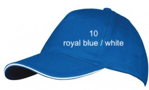 "CAP SPORT LINE - Unisex ""ROYAL BLUE / WHITE"""