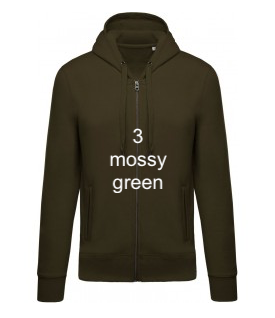 "MEN'S HOODIE ELEGANCE EDITION - GIANT LINE ""MOSSY GREEN"""
