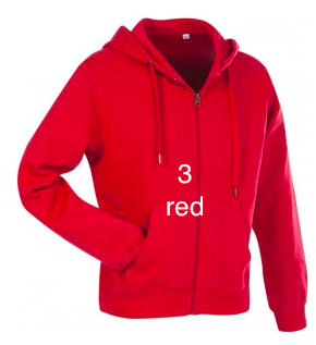 "MEN'S HOODIE SPORT EDITION - GIANT LINE ""RED"""