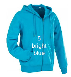 "MEN'S HOODIE SPORT EDITION - GIANT LINE ""BRIGHT BLUE"""
