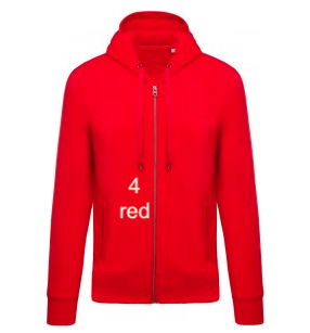"MEN'S HOODIE ELEGANCE EDITION - GIANT LINE ""RED"""